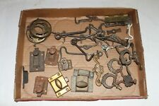 Antique / Vintage Furniture Hardware Lot / Pulls. hooks, latches