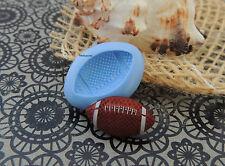 Moule en Silicone - Ballon Rugby 2,2x1,2x0,4 cm, Fimo, résine, porcelaine froide