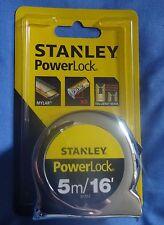 Stanley Powerlock Tape Measure - 5m, 16'