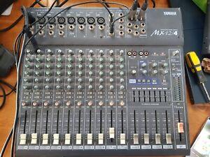 Yamaha MX12/4 dj karaoke sound band mixer