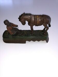 Book of Knowledge Always Did Spise A Mule Mechanical Coin Bank