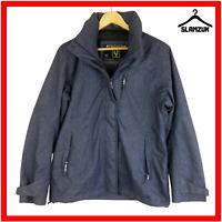 Ayacucho Womens Jacket M Medium Windproof Waterproof Hodded Blue Outdoor Coat