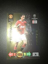 Panini Adrenalyn Xl Champions League 2010/2011 RIO FERDINAND Champions Card