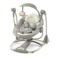 Baby Chair Bouncer Rocking Seat Sleeper Swing Convertible Portable Infant Rocker