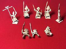 Vintage Warhammer Fantasy elfos alto JOBLOT Figuras De Metal