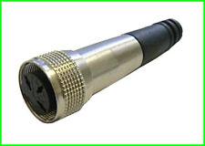 2x pequeño-Tuchel 3 pol din enchufe 3 pin hembra Renk small Tuchel din 41524 md421
