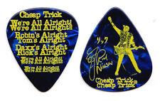 Cheap Trick Rick Nielsen Signature Blue Pearl Guitar Pick - 2017-2018 Tour