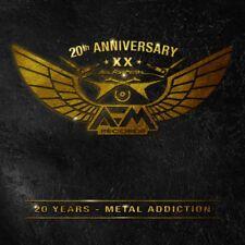 20 years-METAL Addiction 3cd 2016 Tanzwut acciaio uomo Ministry Orden Ogan
