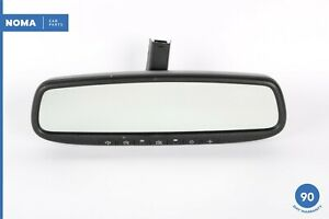 09-14 Hyundai Genesis Interior Rear View Mirror w/ Home Link 00272-02013 OEM