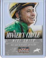 2015 PANINI AMERICANA  WINNER'S CIRCLE MIKE SMITH DIE CUT CARD #3 ~ MULTIPLES
