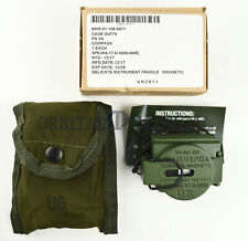 Cammenga USGI Military Tritium Lensatic Compass Model 3H Olive Drab Made 2018