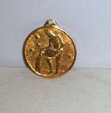 Medaglia SEGNO ZODIACALE ACQUARIO  Amuleto
