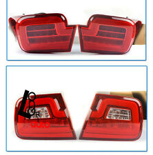 New LED Strip Tail Lights Rear Lamps 2012-2014 Year Red WH For Chevrolet Malibu