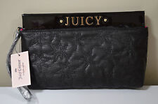 Juicy Couture Black Star Clutch Wallet
