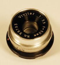 Vivitar 1:35  f= 50mm Enlarging Lens in PRISTINE CONDITION