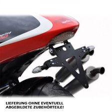 Kennzeichenhalter Aprilia RS 250 verstellbar inclusive LED Rücklicht Heckumbau