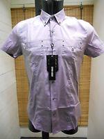 Camisa de Hombre Slim Antony Morato ART.MS3340 Color Lila Precio Pvp