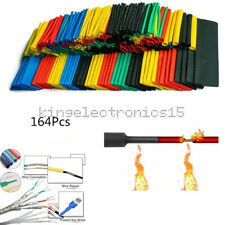 164 PCS Polyolefin Heat Shrink Assorted Tube Tubing Insulated Sleeve Wire Cable