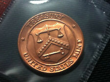 United States Mint Coin Brass Token- Denver Treasury- Uncirculated !