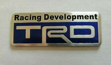 TOYOTA TRD 3D METAL BADGE LOGO EMBLEM STICKER GRAPHIC DECAL TUNING SPORT 1JZ 2JZ