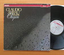 Philips 416 239-1 Claudio Arrau Plays Chopin 1985 Stereo Compilation NM/VG