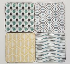 COASTERS GEOMETRIC SCANDINAVIAN DESIGN SKANE CONTEMPORARY DECOR ECP DESIGN