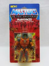 MOTU,Vintage,MAN-E-FACES,Masters of the Universe,MOC,He Man,Sealed