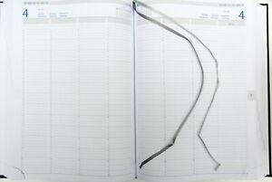 Reservierungsbuch Praxistimer Werkstattkalender 1 Tag 2 Seite  DIN A4 768 Seiten