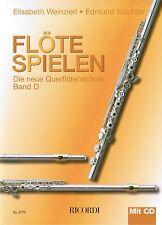 Querflöte Noten Schule : Flöte Spielen D m CD WEINZIERL WÄCHTER Querflötenschule