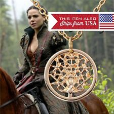 Once Upon A Time Regina Tree Of Life Necklace Evil Queen Gold