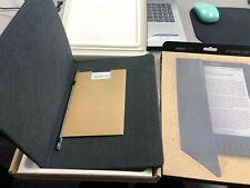 """Amazon Kindle DX Leather 9.7"""" Protective Folio Case - Black"""