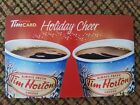 Tim Hortons Rechargeable Gift Card FD44456 2014 Holiday Cheer Zero Balance