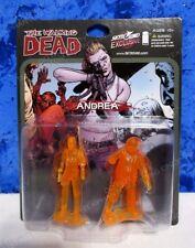 Walking Dead Andrea Walker Hot Orange Translucent Mini figure Skybound Exclusive