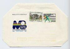 SP 151050 storia postale biglietto postale XXV mondiale baseball 1978