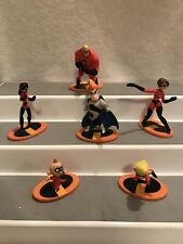 6 Figures The Incredibles Toys As Shown Lot#2