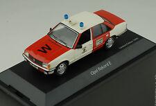 Opel Rekord e bomberos Wuppertal 1:43