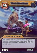 Carte DINOSAUR KING Attaque Alpha VENT CISAILLANT DKAA 066/100 HOLO titan