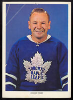 1963 1964-65 CHEX CEREAL Hockey Photo Pic Johnny Bower 5x7 Toronto Maple Leafs