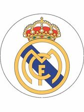 """Real Madrid 7.5"""" Round Icing Sheet, Cake Topper"""