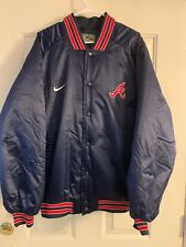 Atlanta Braves MLB Nike Satin Jacket Men's XL