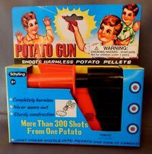 RARE NEW Original Vintage POTATO GUN Classic Retro Toy Schylling NIB