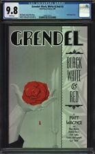 Grendel: Black, White & Red #3 CGC 9.8 Allred Shaw Davis Wagner Cover
