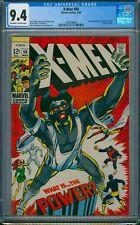 X-MEN #56 CGC 9.4 NM 1ST LIVING MONOLITH 1969 ORIGIN OF ANGEL MARVEL CENTERED