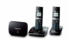 Panasonic 2-Lines Cordless Home Telephones with 2 Handsets
