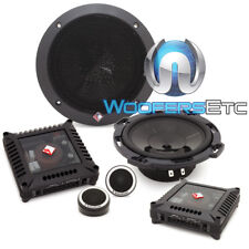 "ROCKFORD FOSGATE T16-S 6"" POWER CAR COMPONENT SPEAKERS TWEETERS CROSSOVERS NEW"
