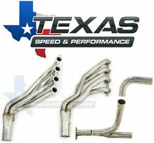 """Texas Speed GM Truck/SUV 1-7/8"""" Stainless Steel Long Tube Headers & O/R Y-Pipe"""