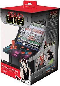 Bad Dudes My Arcade Micro Player Mini Cabinato Arcade Schermo Retroilluminato