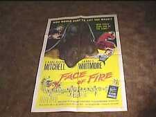 face of fire 1959