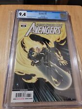 AVENGERS 28 CGC 9.4 HTF 2nd PRINT GHOST SURFER COVER LOW PRINT  🔥🔥