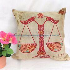 US SELLER - patio cushion covers Libra Zodiac Symbol cushion cover pillowcase